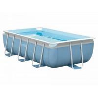 Каркасный бассейн прямоугольный Intex + насос-фильтр, лестница (300x175x80 см) 28314