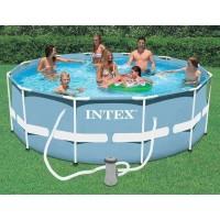 Бассейн каркасный Intex (366х76см)+насос-фильтр 28712