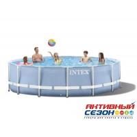 Каркасный бассейн Intex (366x122 см.) + насос-фильтр, лестница 28726