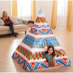"""Детский игровой центр Intex """"Палатка индейца"""" (122x122x157 см) 48629"""