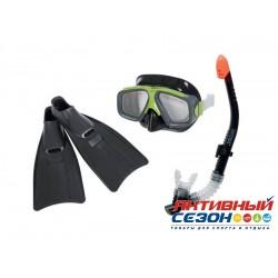 """Набор для плавания """"Серфингист"""" Intex (маска+трубка+ласты) 55959"""