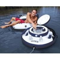 Надувной плавающий бар Intex Mega Chill 56822