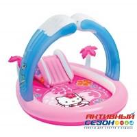 "Надувной детский игровой центр Intex ""Hello Kitty"" (211х163х121см.) 57137"