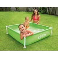Бассейн каркасный Intex Mini Frame Pool (122x122x30см) 57172