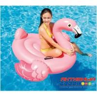 "Надувной плотик ""Розовый фламинго"" Intex (142х137х97 см) 57558"