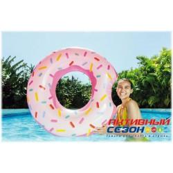 """Надувной круг """"Пончик"""" Intex 9+ (107x99 см) 59265"""