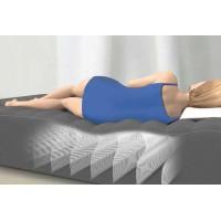 Надувная кровать Deluxe Pillow Rest Raised Bed со встроенным эл. насосом 220В (99х191х42см) 64432