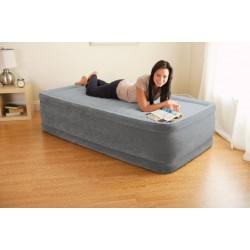 Надувная кровать Intex Comfort-Plush Elevated Airbed со встроенным эл. насосом 220 В (99х191х46см.) 64412