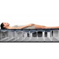 Надувная кровать Intex Pillow Rest со встроенным эл.насосом 220В (99х191х42 см) 64422