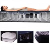 Надувная кровать Intex Pillow Rest со встроенным эл.насосом 220В (152х203х42см) 64424