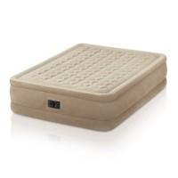 Надувная кровать Intex Ultra Plush Bed со встроенным эл.насосом 220В (152x203x46 см) 64458