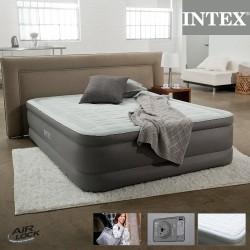 Надувная кровать Intex со встроенным насосом 220В (152х203х46см) 64474