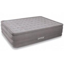 Надувная кровать Intex Ultra Plush Bed со встроенным насосом 220В (152х203х46 см) 66958