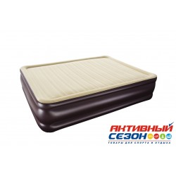 Надувная кровать Bestway Cornerstone Airbed (203х152х43см) 67597BW