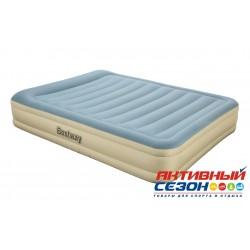 Надувная кровать Essence Fortech Bestway (203х152х36см) встроенный электронасос 69007BW