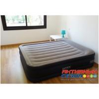 Надувная кровать INTEX ESSENTIAL REST AIRBED со встроенным насосом 220В (152x203x42см) 64136