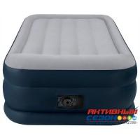 Надувная кровать Intex Deluxe Pillow Rest Raised Bed со встроенным эл. насосом 220В (99х191х42см) 64132
