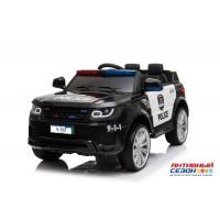 Машинка на аккумуляторе POLICE, 5km/h. 2 скорости, до 30 кг.