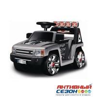 Машина на аккумуляторе ZP-V005 черная, д/катания детей весом до 25 кг, 76*43*45см