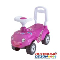Каталка 157 Машина розовая для катания детей, Микрокар