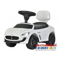 Каталка 353 Машина Maserati для катания детей, со звуком, до 23кг,  в коробке