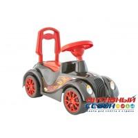 Каталка 900 Машина РЕТРО черная для катания детей, вес ребенка до 30 кг ОРИОН 1018145