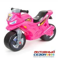 Мото - каталка 501 розовый