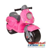 Каталка 502 Скутер розовый