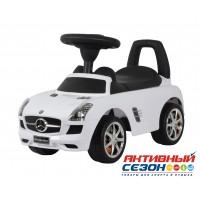 Каталка 332 Машина Mercedes-Benz SLS AMG для катания детей, со звуком, до 23кг, в коробке
