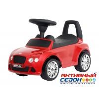 Каталка 326 Машина Bentley для катания детей, со звуком, до 23кг, в коробке