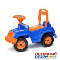 Каталка 549 Машина синяя для катания детей