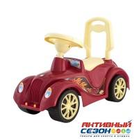 Каталка 900 Машина красная для катания детей, Ретро