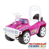 Каталка 419 Машина розовая перламутр для катания детей, Ориончик