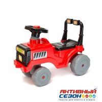 Каталка 931 Трактор красный для катания детей