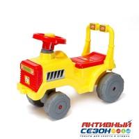 Каталка 931 Трактор лимон для катания детей