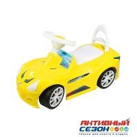 Каталка 160 Машина желтая для катания детей