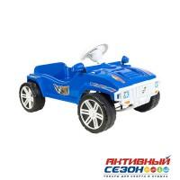 Каталка 792 Машина синяя для катания детей