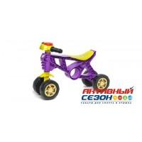 Каталка 188 Беговел фиолетовый 4 колеса