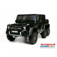Машина на аккумуляторе Mercedec-Benz G 63 AMG 6*6 черная, Р/У