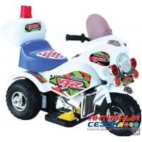 Мотоцикл на аккумуляторе (белый)