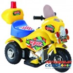 Мотоцикл на аккумуляторе (желтый)