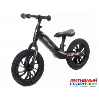 """Велобег """"Slider"""" надув. колеса 12 дюймов, магниевая рама, вес 3,5 кг, цвет: черный"""