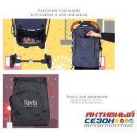 Прогулочная коляска Babalo Красный (рама черная)