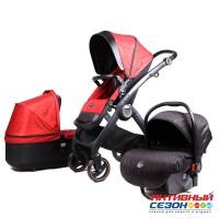 Коляска Lux mom 3в1 N80T (Red)