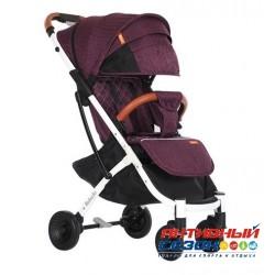 Прогулочная коляска Babalo Фиолетовый (рама белая)