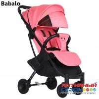 Прогулочная коляска Babalo Розовый (рама черная)