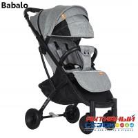 Прогулочная коляска Babalo Серый (рама черная)