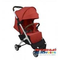Прогулочная коляска Yoya Plus 3 Красный (рама белая)