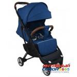 Прогулочная коляска Yoya Plus 3 Темно-Синий (рама черная)