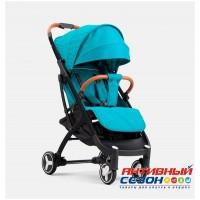 Прогулочная коляска Yoya Plus 3 Topaz (Синий) (рама черная)